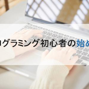 プログラミング初心者の言語選び・勉強方法・何から始める?を解説!