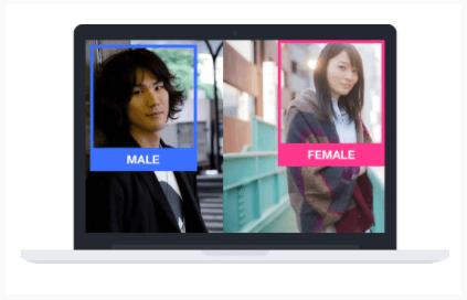 顔認識アプリ